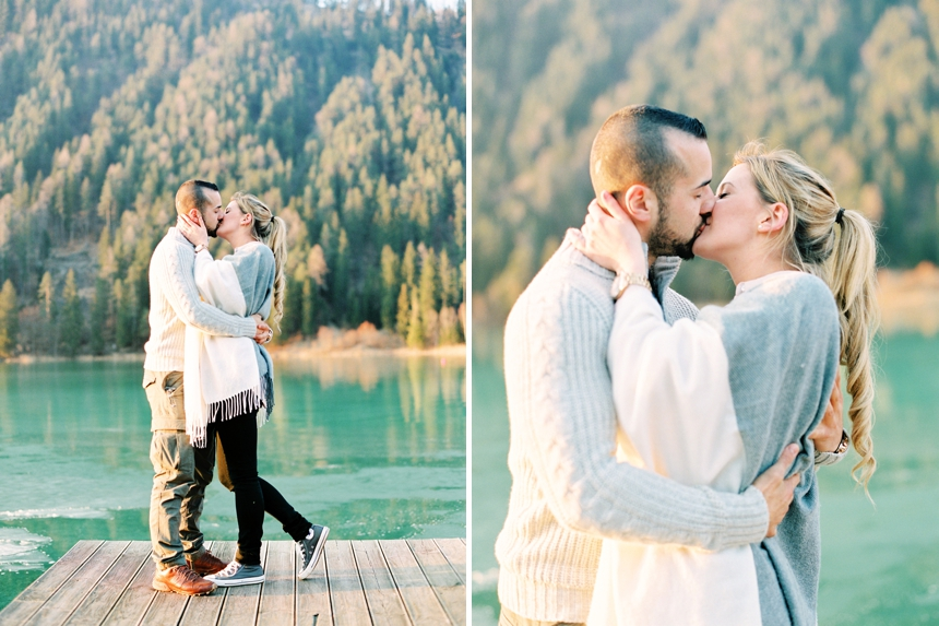 couple session at lake Weissensee , Carinthia ,  Melanie Nedelko, fine art photography